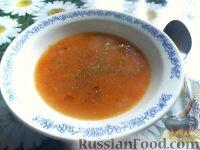 Фото к рецепту: Картофельно-морковный суп-пюре с курицей