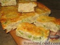 Фото к рецепту: Пирог с цветной капустой и брокколи
