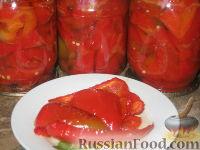 Фото приготовления рецепта: Перец с маслом и медом - шаг №4