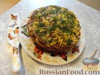 Фото к рецепту: Печеночный торт