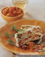 Фото к рецепту: Сырная запеканка с болгарским перцем
