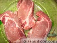Фото приготовления рецепта: Мясо в сливках - шаг №2