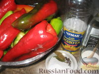 Фото приготовления рецепта: Маринованный болгарский перец - шаг №1