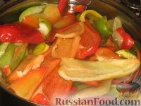 Фото приготовления рецепта: Маринованный болгарский перец - шаг №4