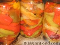 Фото приготовления рецепта: Маринованный болгарский перец - шаг №6