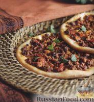 Фото к рецепту: Мини-пиццы по-турецки