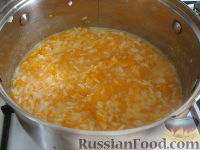 Фото приготовления рецепта: Каша из тыквы с рисом - шаг №5