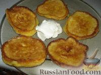 Фото к рецепту: Оладьи с тыквой