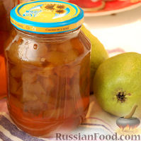 Фото к рецепту: Варенье из груш с лимончиком