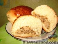 Фото к рецепту: Пироги с мясом (безопарный способ)
