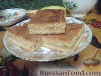 Фото к рецепту: Песочный пирог с яблоками