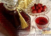 Фото к рецепту: Настойка малиновая на коньяке