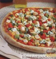 Фото к рецепту: Луизианская пицца