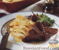 Фото к рецепту: Картофель с олениной