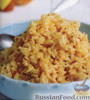 Фото к рецепту: Рис постный по-мексикански