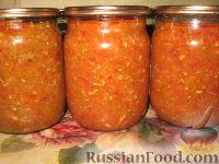 Фото к рецепту: Аджика из кабачков на зиму