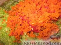 Фото приготовления рецепта: Аджика из кабачков на зиму - шаг №5
