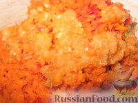 Фото приготовления рецепта: Аджика из кабачков на зиму - шаг №6