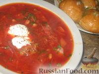 Фото к рецепту: Борщ черниговский