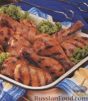 Фото к рецепту: Курятина, приготовленная на гриле