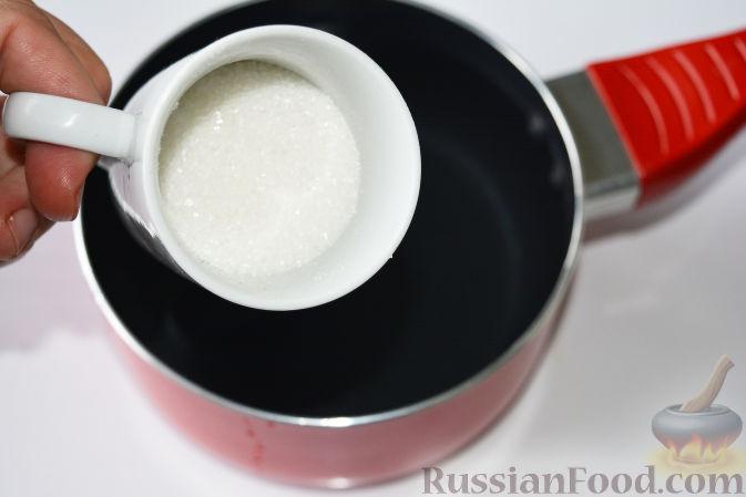 Фото приготовления рецепта: Маринованная черешня (на зиму) - шаг №6