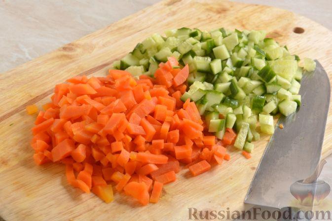 Фото приготовления рецепта: Японский картофельный салат - шаг №5
