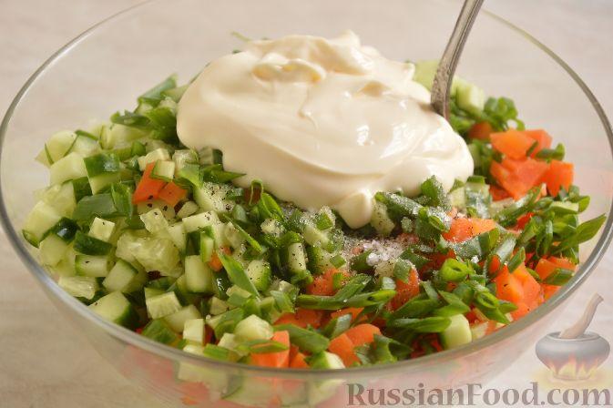 Фото приготовления рецепта: Японский картофельный салат - шаг №7
