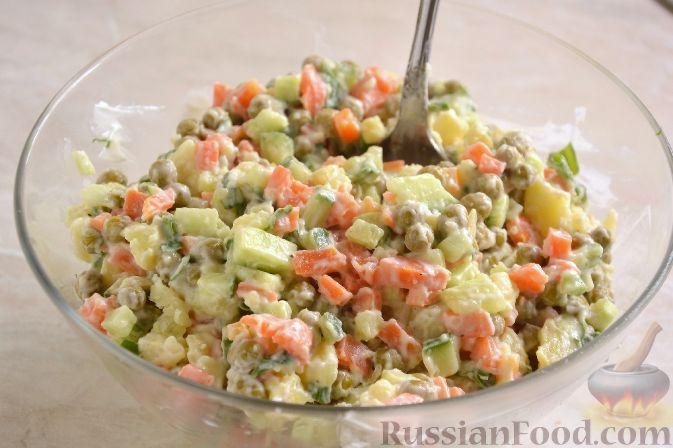 Фото приготовления рецепта: Японский картофельный салат - шаг №8