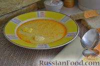 Фото к рецепту: Сметанный суп с тмином и яйцом