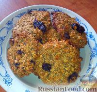 Фото к рецепту: Овсяное печенье (без муки и масла)