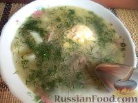Фото к рецепту: Суп-рассольник