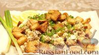 Фото к рецепту: Картофельный салат со шпротами