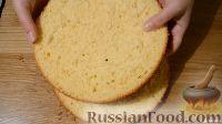 Фото к рецепту: Бисквит на апельсиновом соке