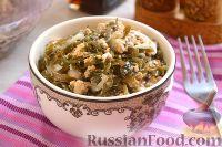 Фото к рецепту: Салат из морской капусты и тофу