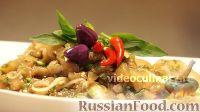 Фото к рецепту: Баклажаны в пикантном соусе