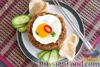 Фото к рецепту: Наси-горенг (жареный рис)