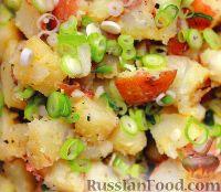 Фото к рецепту: Теплый картофельный салат