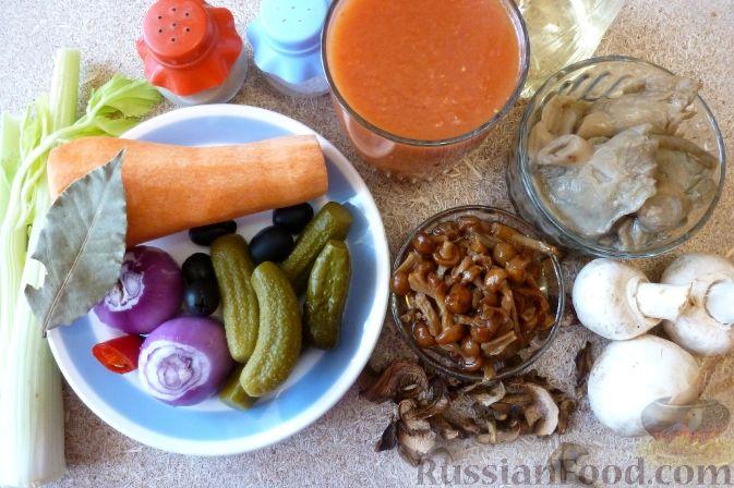 Фото приготовления рецепта: Вермишель с мясом и морковью - шаг №8