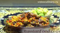 Фото к рецепту: Кукуруза с мясом, по-узбекски