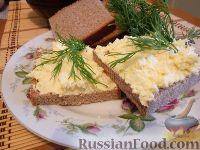 Фото к рецепту: Салат с сыром и яйцом