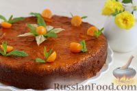 Фото к рецепту: Римский апельсиновый торт