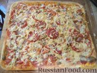 Фото к рецепту: Пицца на сладком тесте