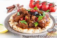 Фото к рецепту: Эсик-флейш (кисло-сладкое мясо)