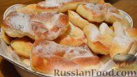 Фото к рецепту: Немецкие кребли (пончики)