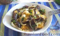 Фото к рецепту: Маринованные баклажаны с чесноком и луком