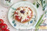 Фото к рецепту: Дакос (критская закуска)