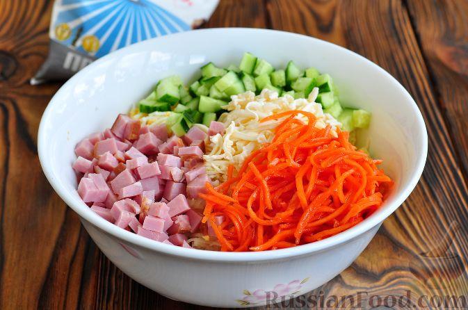 Карейские салаты рецепт
