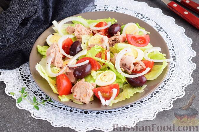 Очень вкусные салаты с помидорами и тунцом. ТОП - 10 лучших