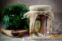 Фото к рецепту: Утопенцы (маринованные шпикачки)