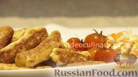 Фото к рецепту: Картофельные палочки, жаренные в топленом масле
